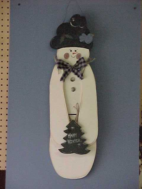 Handcrafted Christmas Trees, Snowman